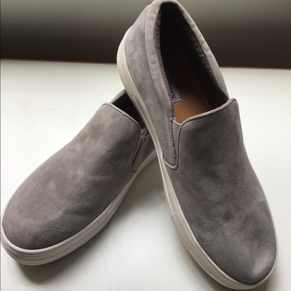9458c426d6c Steve Madden Gill Gray Suede Slip On Sneakers. M 5b0acddacaab441c3a24f5bf